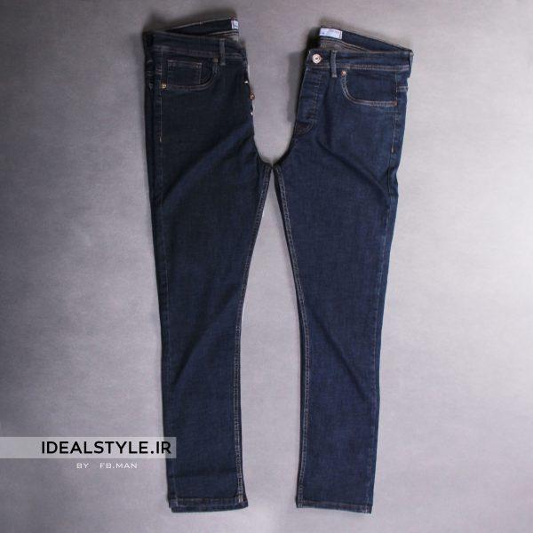 شلوار جین جذب مردانه کد 1894-1203 پوشاک ایده آل استایل