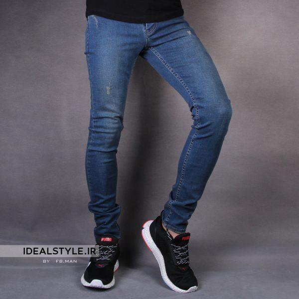 شلوار جین جذب مردانه fashion best کد 1896-1203